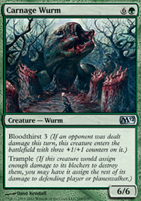 Carnage Wurm - Magic 2012