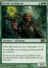 Elvish Archdruid - Magic 2012