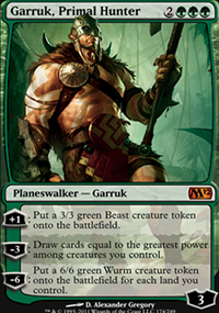 Garruk, Primal Hunter - Magic 2012