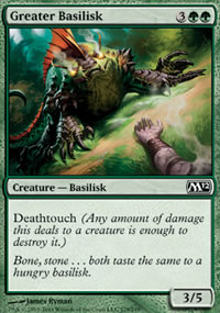 Greater Basilisk - Magic 2012