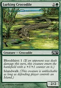 Lurking Crocodile - Magic 2012