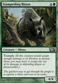 Stampeding Rhino - Magic 2012