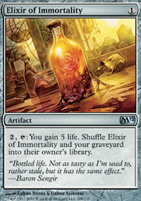 Elixir of Immortality - Magic 2012