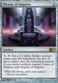 Throne of Empires - Magic 2012