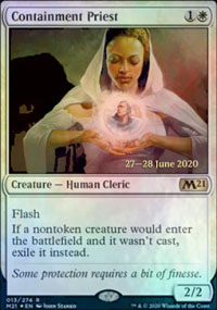 Containment Priest - Prerelease Promos
