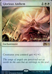 Glorious Anthem - Prerelease Promos