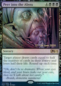 Peer into the Abyss - Prerelease Promos