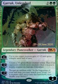 Garruk, Unleashed - Prerelease Promos
