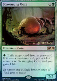 Scavenging Ooze - Prerelease Promos
