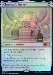 Chromatic Orrery - Prerelease Promos