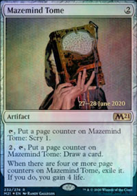 Mazemind Tome - Prerelease Promos