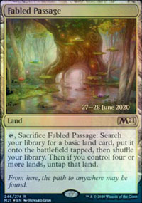 Fabled Passage - Prerelease Promos