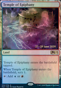 Temple of Epiphany - Prerelease Promos