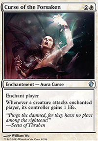 Curse of the Forsaken - Commander 2013