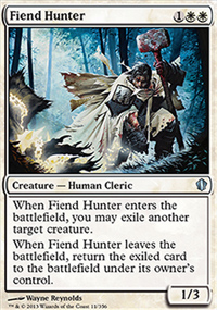 Fiend Hunter - Commander 2013