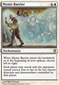 Mystic Barrier - Commander 2013