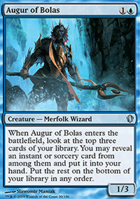 Augur of Bolas - Commander 2013