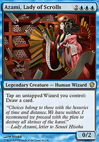 Azami, Lady of Scrolls - Commander 2013