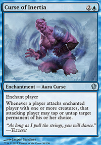 Curse of Inertia - Commander 2013