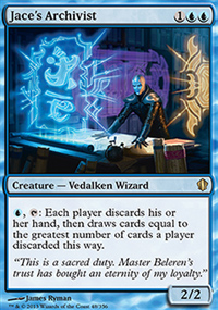 Jace's Archivist - Commander 2013