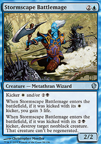 Stormscape Battlemage - Commander 2013