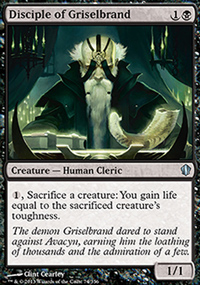 Disciple of Griselbrand - Commander 2013