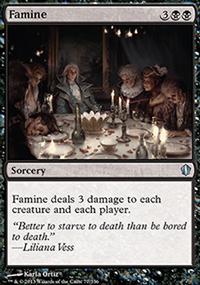 Famine - Commander 2013