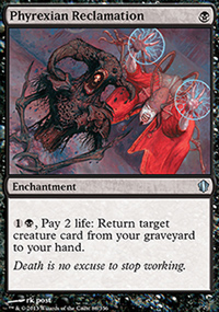 Phyrexian Reclamation - Commander 2013