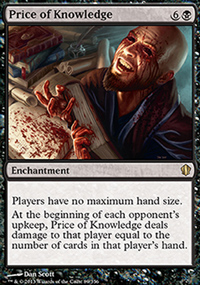 Price of Knowledge - Commander 2013