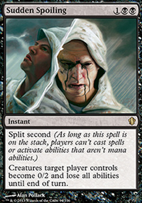 Sudden Spoiling - Commander 2013