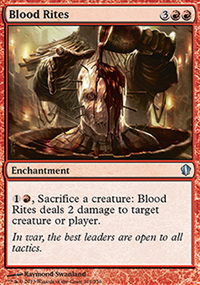 Blood Rites - Commander 2013