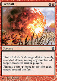 Fireball - Commander 2013