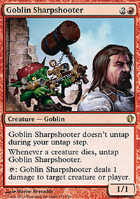 Goblin Sharpshooter - Commander 2013