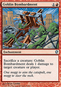 Goblin Bombardment - Commander 2013