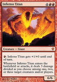 Inferno Titan - Commander 2013