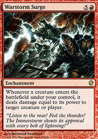 Warstorm Surge - Commander 2013