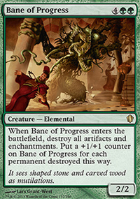 Bane of Progress - Commander 2013