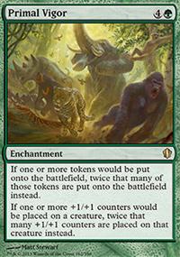 Primal Vigor - Commander 2013