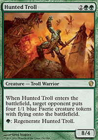 Hunted Troll - Commander 2013