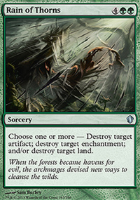 Rain of Thorns - Commander 2013