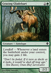 Grazing Gladehart - Commander 2013