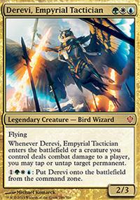 Derevi, Empyrial Tactician - Commander 2013