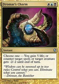 Dromar's Charm - Commander 2013