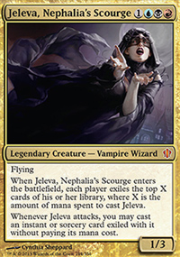 Jeleva, Nephalia's Scourge - Commander 2013