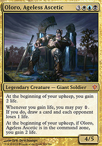 Oloro, Ageless Ascetic - Commander 2013
