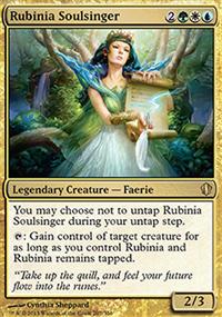 Rubinia Soulsinger - Commander 2013