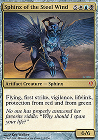 Sphinx of the Steel Wind - Commander 2013