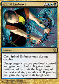 Spinal Embrace - Commander 2013