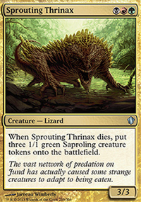 Sprouting Thrinax - Commander 2013