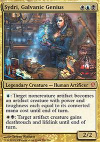 Sydri, Galvanic Genius - Commander 2013